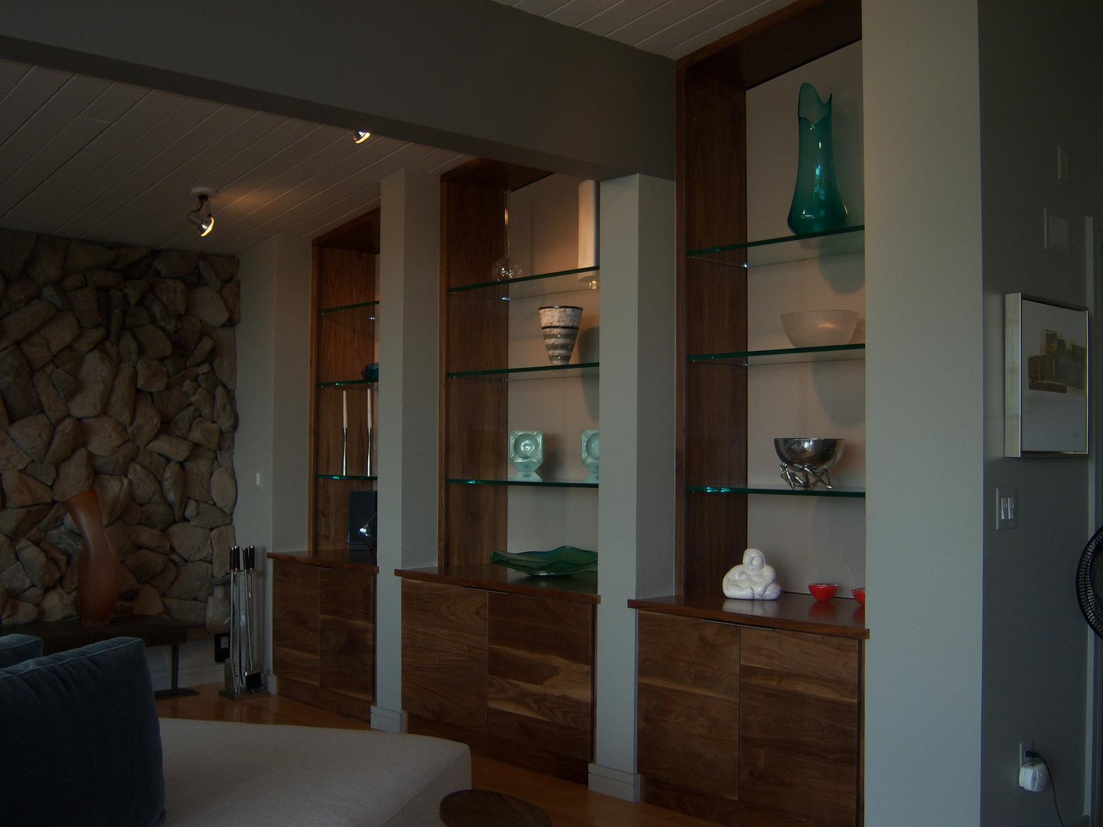 Glass Shelving Installation Fort Worth