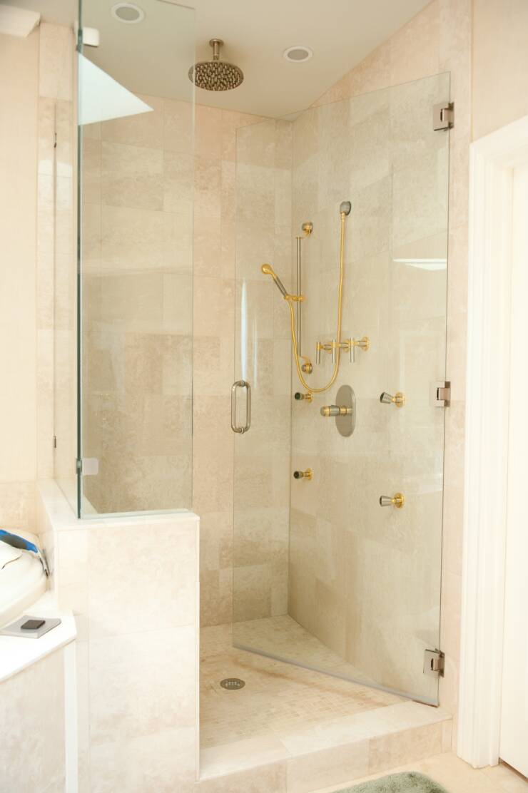 Pivot shower doors are an example of engineering at its finest pivot