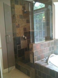 shower installation / fort worth / armstrong's