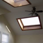 skylight in a home