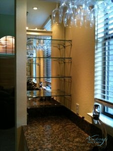 Customized Glass Shelves