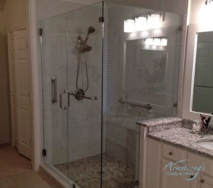 Frameless Shower Glass Installs