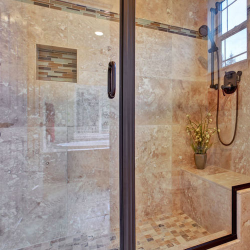 Glass Shower Door Repair for Small Bathroom